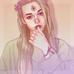 Аватар Девушка с третьим глазом, by PHAZED