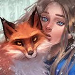 Аватар Девушка с лисой