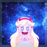 Аватар Звездочка Баттерфлай / Стар Баттерфлай / Star Butterfly из мультфильма Звездная принцесса и силы зла / Star vs. the Forces of Evil