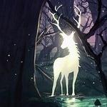 Аватар Сказочный олень в лесу