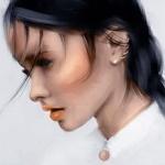 Аватар Девушка в профиль