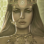 Аватар Девушка с украшениями, by Strawberry Singh