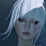 99px.ru аватар Девушка с белыми волосами, by Strawberry Singh