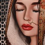 99px.ru аватар Девушка с восточными украшениями, by Strawberry Singh