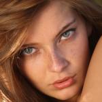 Аватар Модель Anna Raise / Анна Райз с веснушками и красивыми глазами