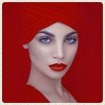 Аватар Девушка в красном