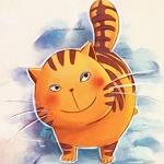 Аватар Рисованный рыжий кот, by trenchmaker