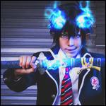 Аватар Косплей Рин Окумура / Rin Okumura из аниме Синий Экзорцист / Ao No Exorcist