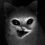 Аватар Кот-демон в темноте