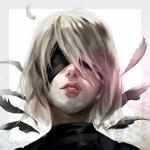 99px.ru аватар YoRHa №2 тип B из игры NieR: Automata