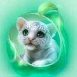 Аватар Маленький белый тигренок, by shu-littlebit