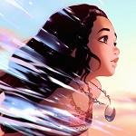 Аватар Моана Ваялики / Moana Waialiki из мультфильма Моана / Moana, by Kuvshinov Ilya