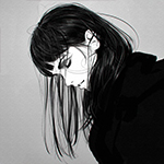 Аватар Девушка в черном пальто, автор Илья Кувшинов