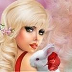 Аватар Девушка с кроликом