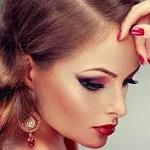 Аватар Девушка с опущенными глазами