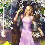 Аватар Девушка у дерева с корзиной яиц, автор Nadya Senina
