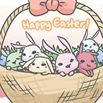 99px.ru аватар Большая корзина с кроликами (Счастливой пасхи! / Happy Easter), автор LadyRawr