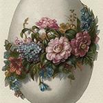 Аватар Яйцо украшенное цветами