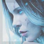 Аватар Селена, роль которой исполняет Кейт Бекинсейл, из фильма Другой мир: Войны крови / Underworld: Blood Wars