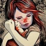 Аватар Девочка обнимает котенка