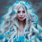 Аватар Девушка с цветами на волосах, фотограф Светлана Беляева