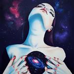 Аватар Девушка с космосом в груди, by Harumi Hironaka