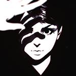 Аватар Девушка с тенью от руки на лице, автор Илья Кувшинов