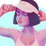 Аватар Девушка в кепке