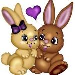 Аватар Два милых кролика