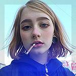 Аватар Девушка с сигаретой