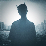 Аватар Силуэт дьявола на фоне города