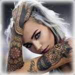 Аватар Красивая девушка в татуровках
