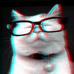 Аватар Ширанеко в стильных очках