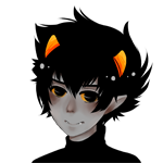 Аватар Каркат Вантас / Karkat Vantas из вэб-комикса Хоумстак / Homestuck, by AnnaBurritto