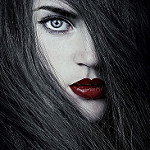 Аватар Девушка с ярко накрашенными губами