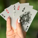 Аватар Пять карточных тузов в руке