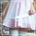Аватар Девочка в розовом платьице с ножом в руке