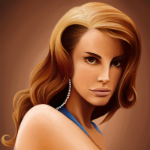Аватар Певица Лана Дель Рей / Lana Del Rey, by EmzLP