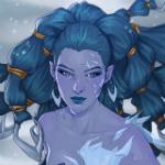 Аватар Shiva / Шива - персонаж игры Final Fantasy, by Merwild