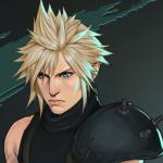 Аватар Cloud Strife / Клауд Страйф - персонаж игры Final Fantasy, by Merwild