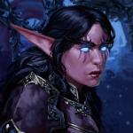 Аватар Ночная эльфийка-арт на игру World of Warcraft, by Darantha