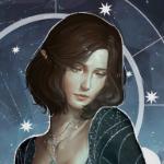 Аватар Темноволосая эльфийка - арт на игру Dragon Age, by katorius