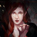Аватар Рыжеволосая девушка - арт на игру Dragon Age, by katorius