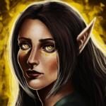 Аватар Эльфийка с темными волосами, by Felinna