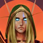 Аватар Alleria Windrunner / Аллерия Ветрокрылая - персонаж игры World of Warcraft, by Sabalmirss