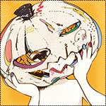 Аватар Ребенок с тыквой Джека на голове на Хэллоуин / Halloween