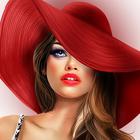 Аватар Девушка в красной шляпе