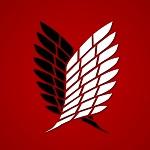 Аватар Эмблема разведкорпуса из аниме Вторжение гигантов / Shingeki no Kyojin, крылья Свободы
