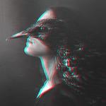 Аватар Девушка с птицей на плече