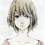 Аватар Портрет грустной девушки с короткой стрижкой